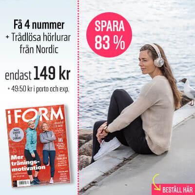 I Form Nordic Trådlösa Hörlurar