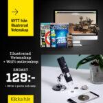 Illustrerad Vetenskap + WiFi-mikroskop som premie