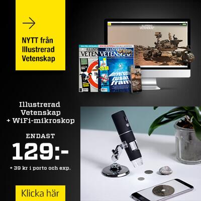 Illustrerad Vetenskap + WiFi-mikroskop tidningspremie