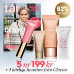 Tara + 4 härliga produkter från Clarins