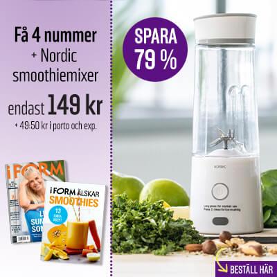 I FORM + Nordic smoothiemixer