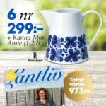 Lantliv + Kanna Mon Amie från Rörstrand