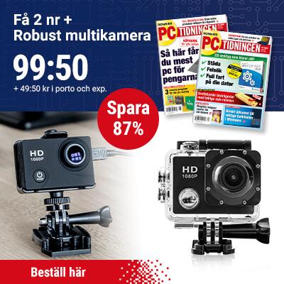 Webkamera + PC-tidningen