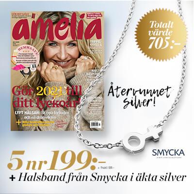 Amelia + Halsband från Smycka i Äkta Silver