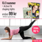 I FORM + Active Fit shaping tights
