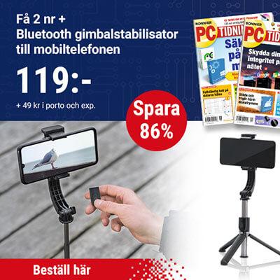 PC-tidningen-+-Bluetooth-Gimbalstabilisator-till-din-Mobil