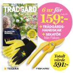 Allt om Trädgård Sekatör från Fiskars & trädgårdshandskar Rose