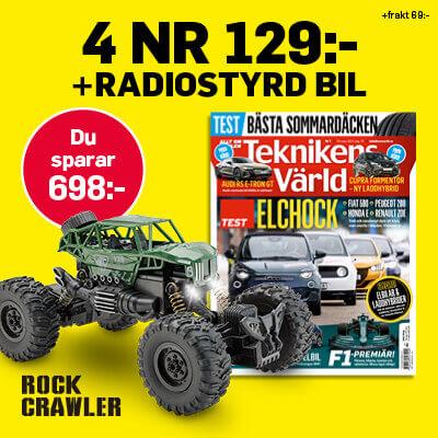 Teknikens Värld Rock Crawler Radiostyrd Bil