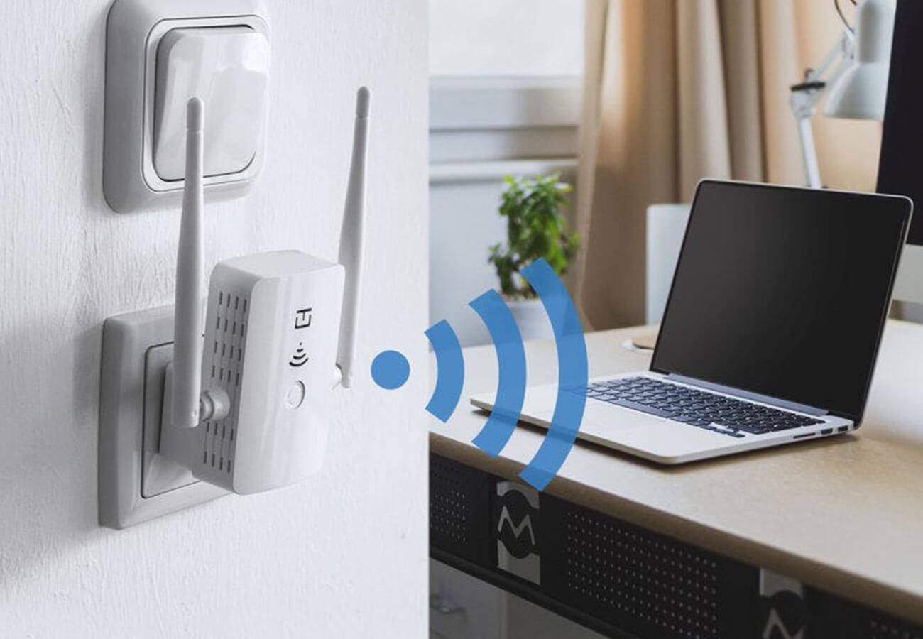 Wi-Fi repeater setup