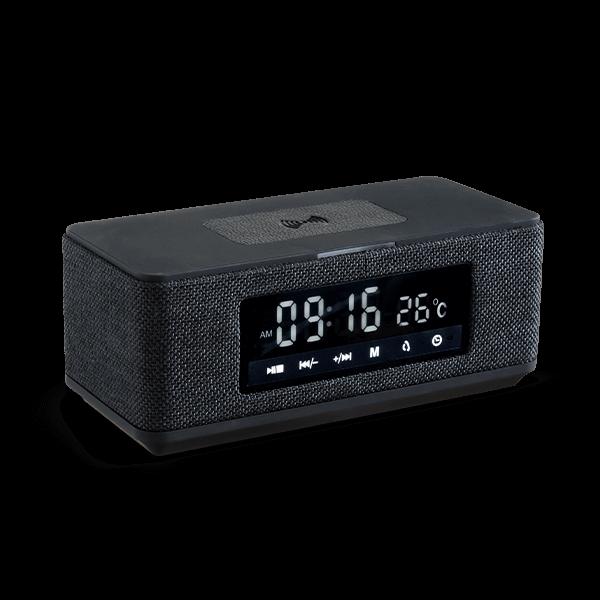Bluetooth-klockradio med trådlös laddning