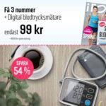 I FORM + Digital blodtrycksmätare