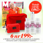 M-magasin + Resekit från Yvonne Ryding/Amelia Adamos hårserie