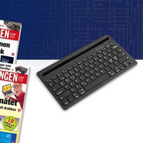 PC-tidningen + Bluetooth-tangentbord premie