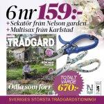 Allt om Trädgård Sekatör från Nelson Garden & multisax från Karlstad Redskap