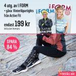 I FORM + Vinterlöpartights från Active Fit