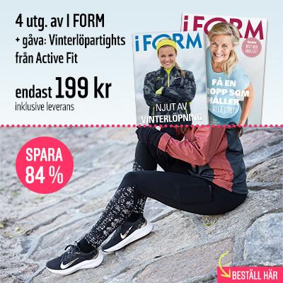 I FORM + Vinterlöpartights från Active Fit som premie